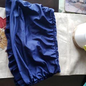 Venus Bathing Skirted full Bottom~Navy Blue~Size 8